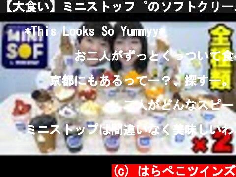 【大食い】ソフトクリーム専門店で全メニュー制覇!(おすすめ動画)
