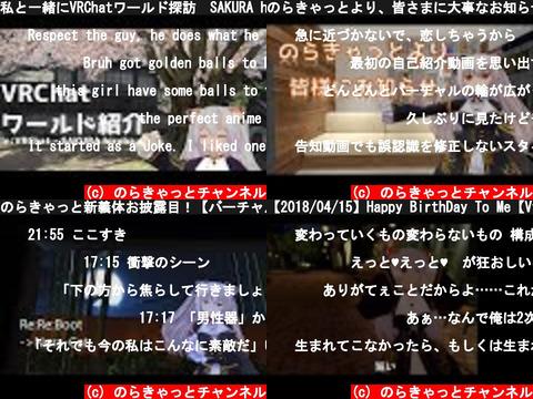 のらきゃっとチャンネル(おすすめch紹介)