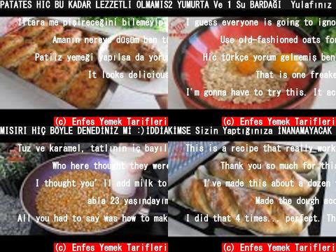 Enfes Yemek Tarifleri(おすすめch紹介)