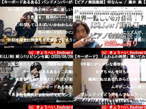 きょうへい_Keyboard(おすすめch紹介)