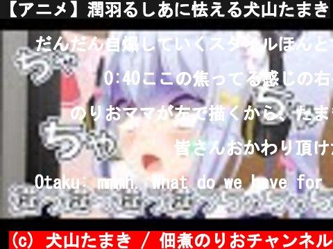【アニメ】潤羽るしあに怯える犬山たまき  (c) 犬山たまき / 佃煮のりおチャンネル