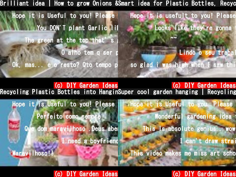 DIY Garden Ideas(おすすめch紹介)