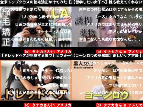 タナカさんin アメリカ(おすすめch紹介)