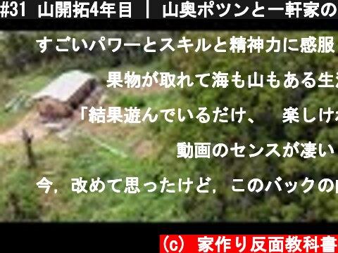 #31 山開拓4年目   山奥ポツンと一軒家のはずが…侵入される瞬間…   屋根増築編5  (c) 家作り反面教科書