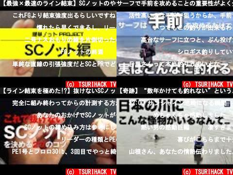 TSURIHACK TV(おすすめch紹介)