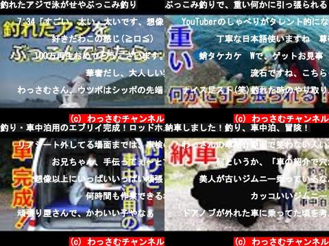 わっさむチャンネル(おすすめch紹介)