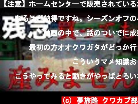 【注意】ホームセンターで販売されているオオクワガタが産まない理由  (c) 夢旅路 クワカブ部