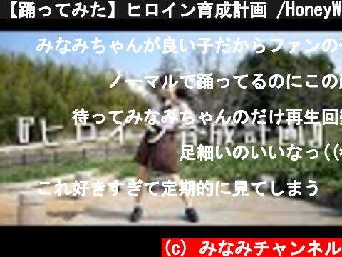 【踊ってみた】ヒロイン育成計画 /HoneyWorks【MINAMI】  (c) みなみチャンネル