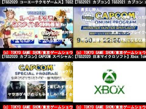 TOKYO GAME SHOW/東京ゲームショウ(おすすめch紹介)
