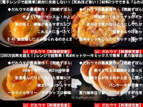 だれウマ【料理研究家】(おすすめch紹介)