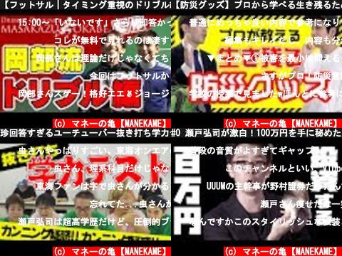 マネーの亀【MANEKAME】(おすすめch紹介)