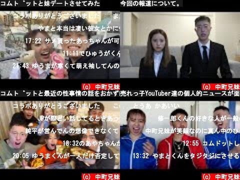 中町兄妹(おすすめch紹介)