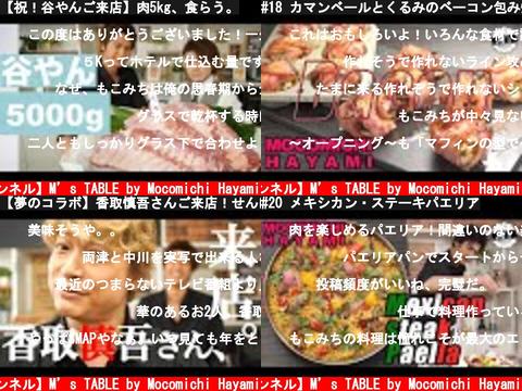 【速水もこみち 公式チャンネル】M's TABLE by Mocomichi Hayami(おすすめch紹介)