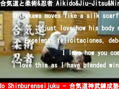 合気道と柔術&忍者 Aikido&Jiu-Jitsu&Ninja techniques  (c) Aikido Shinburenseijuku - 合気道神武錬成塾