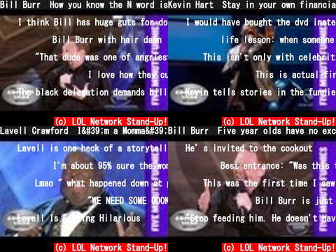 LOL Network Stand-Up!